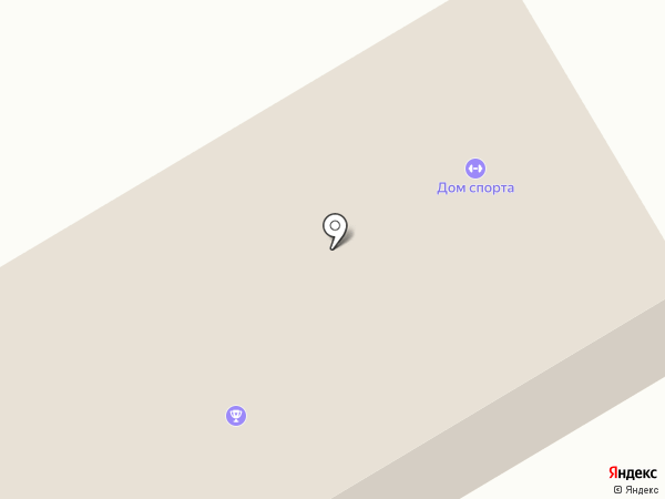 СДЮСШОР на карте Светлого