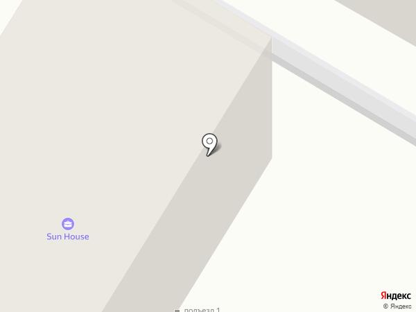 Сэтл Эстейт на карте Светлогорска
