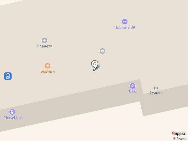 Балт-Тур-Сервис на карте Светлогорска