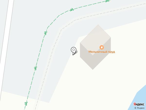 У Озера на карте Светлогорска