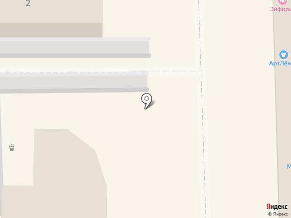 Контраст на карте Светлогорска