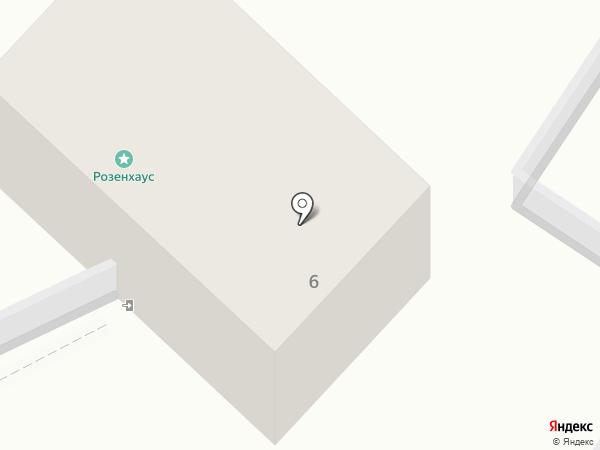 Эдера на карте Светлогорска