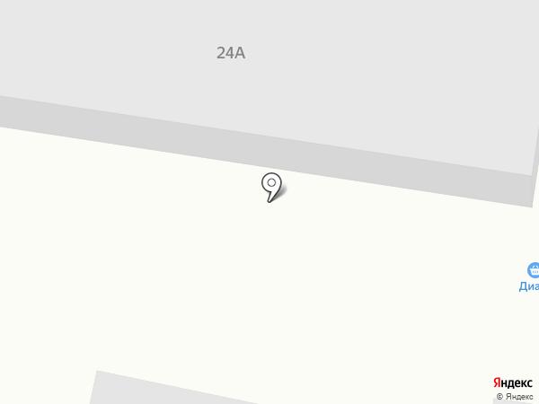 Диана на карте Светлогорска
