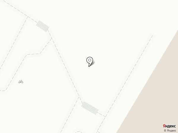 Светлогорский на карте Светлогорска