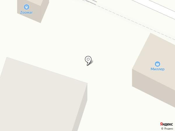 Радуга на карте Пионерского