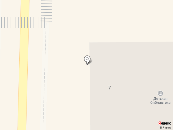Детская библиотека на карте Пионерского
