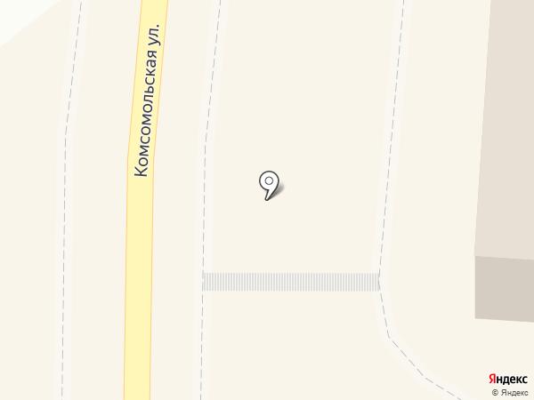 Магазин одежды и постельного белья на карте Пионерского