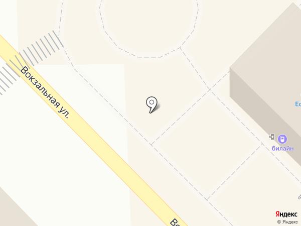 Есения на карте Пионерского