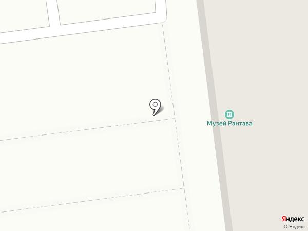 Городская библиотека на карте Пионерского