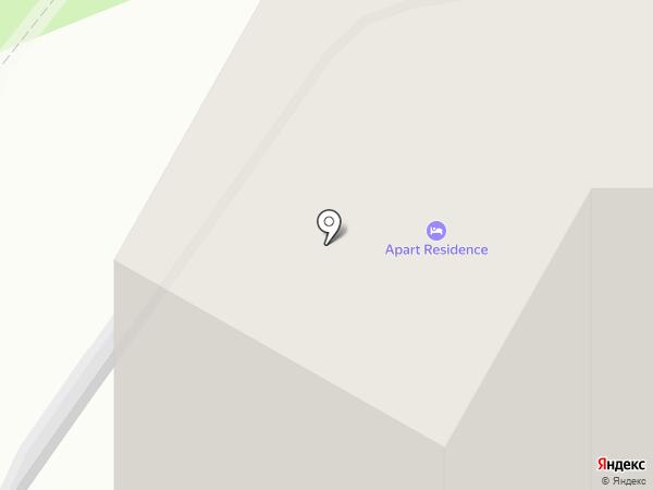Apart Residence на карте Пионерского