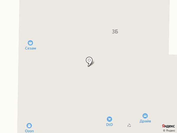 DTD на карте Пионерского