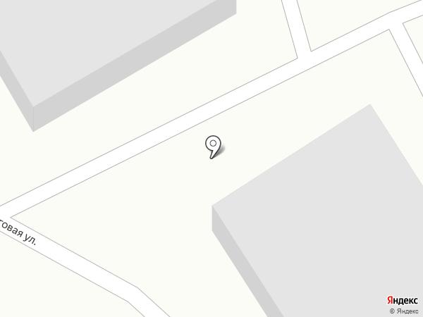 Прибой на карте Калининграда