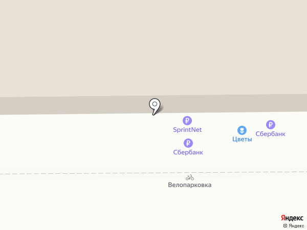 Магазин оптики на карте Калининграда
