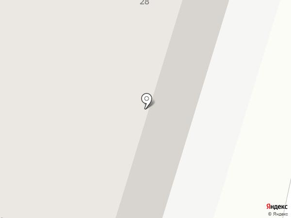 Алданские сосны на карте Калининграда