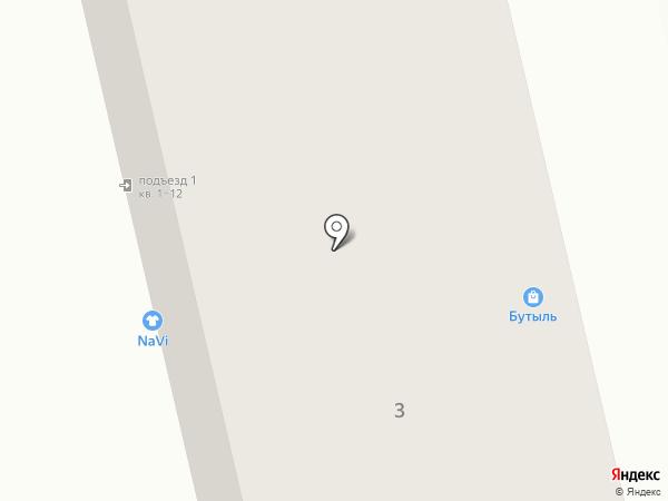 Кнопка на карте Калининграда
