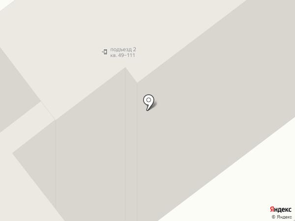 Смольный парк на карте Калининграда