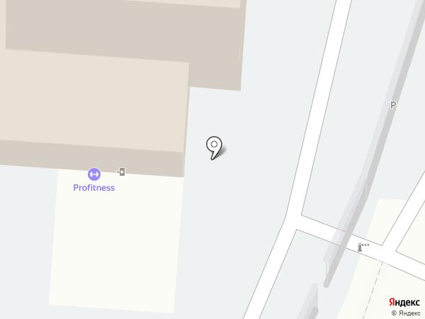 Юниор на карте Калининграда