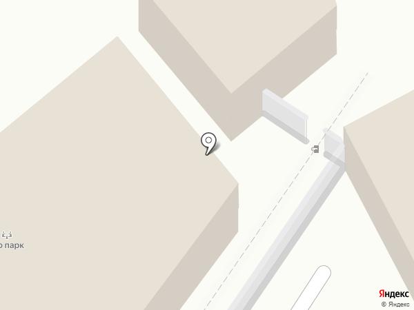 Тасун на карте Калининграда