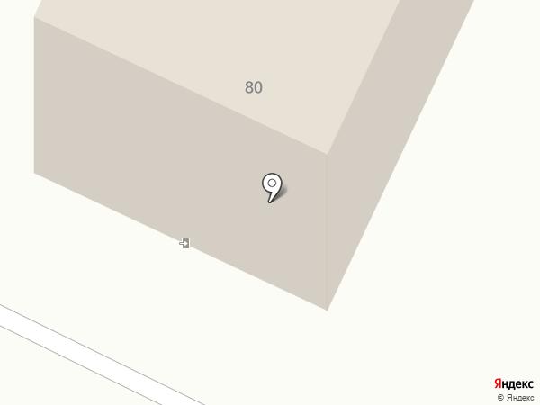 Любава на карте Калининграда