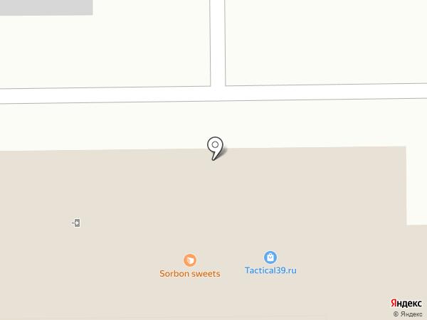 Артель на карте Калининграда