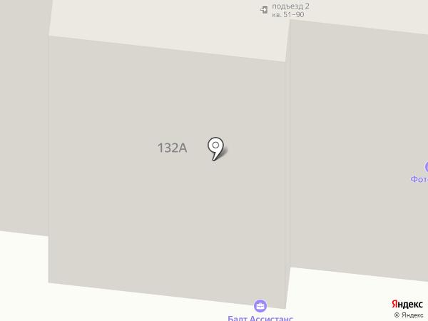 Раст-Авто МТК на карте Калининграда