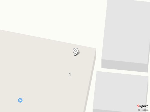 Автостекла на Окружной на карте Калининграда