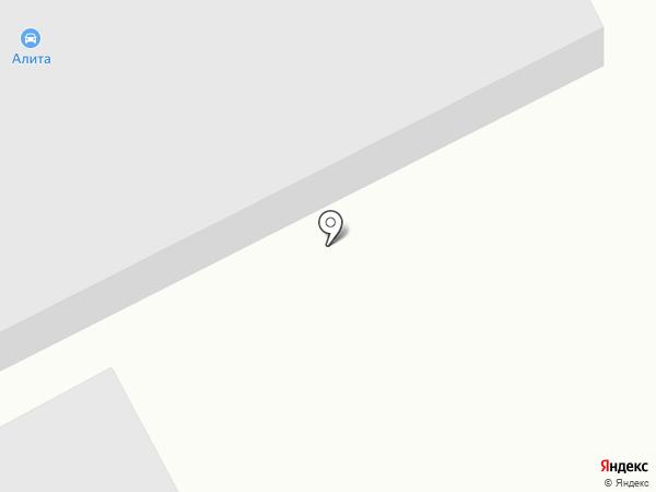 АЛИТА на карте Калининграда