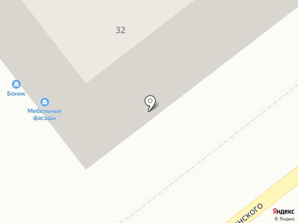 Еврохимчистка на карте Калининграда