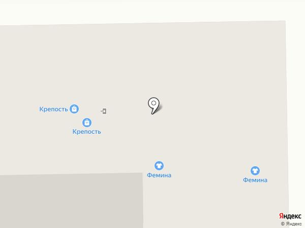 Магазин спецодежды для охраны на карте Калининграда