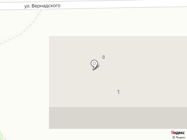 Парикмахерская на карте Калининграда