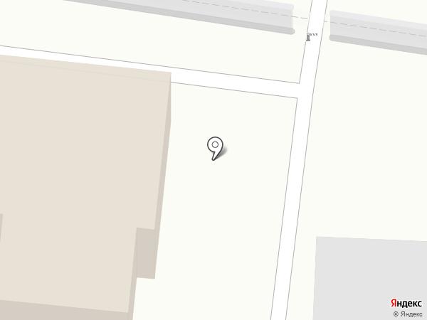 Красная Де Люкс на карте Калининграда