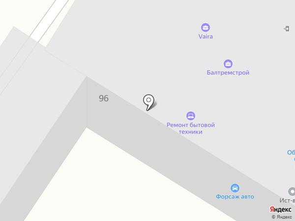 VAIRA на карте Калининграда