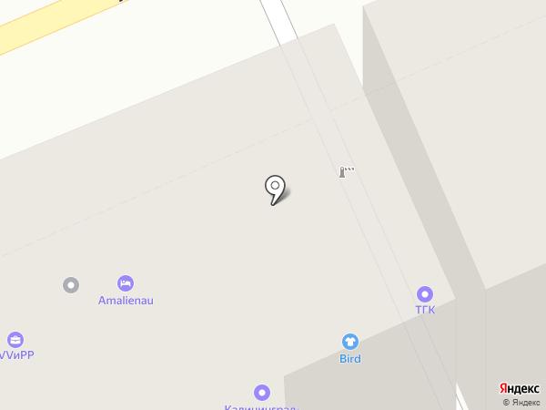 Amalienau на карте Калининграда