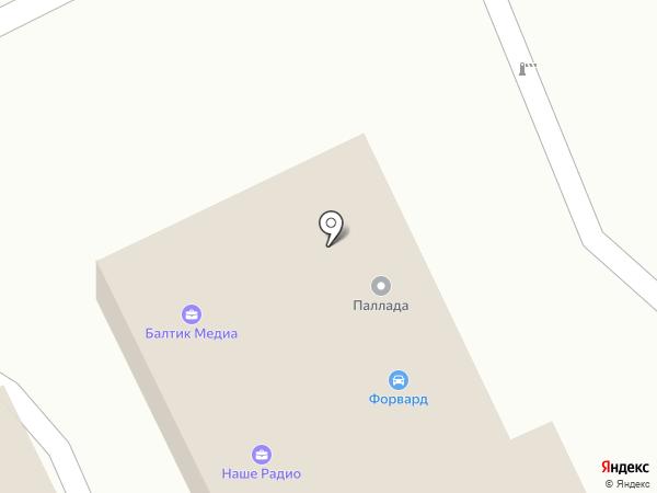 Зап39 на карте Калининграда
