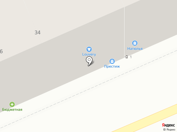 Престиж на карте Калининграда