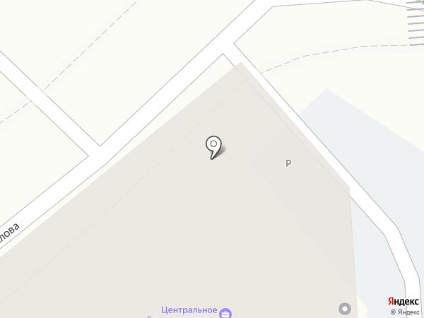 Монолит на карте Калининграда