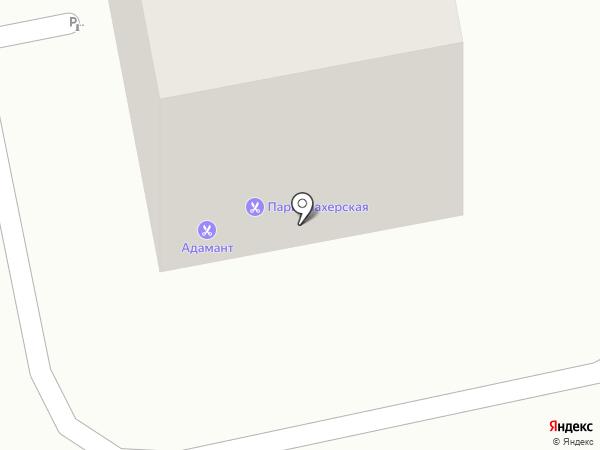 Адамант на карте Калининграда