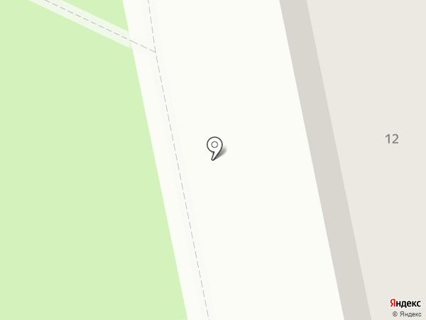 Карусель на карте Калининграда