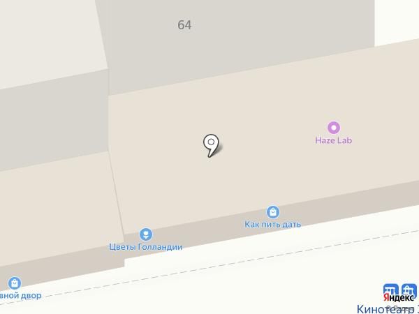 Грация на карте Калининграда