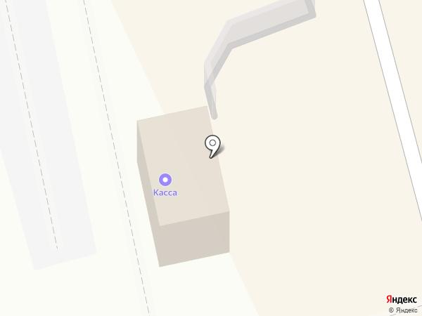 Сельма на карте Калининграда