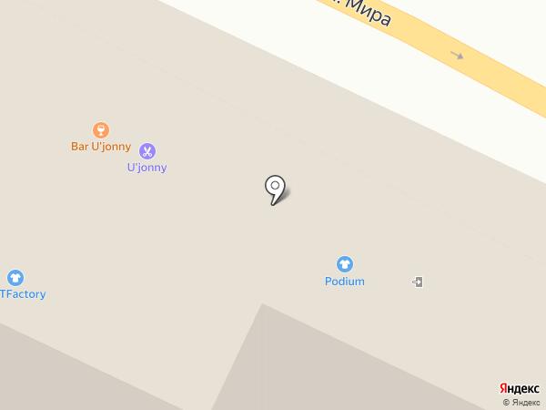 СтилеТ на карте Калининграда