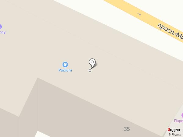 Дали на карте Калининграда
