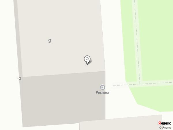 Доброволец на карте Калининграда