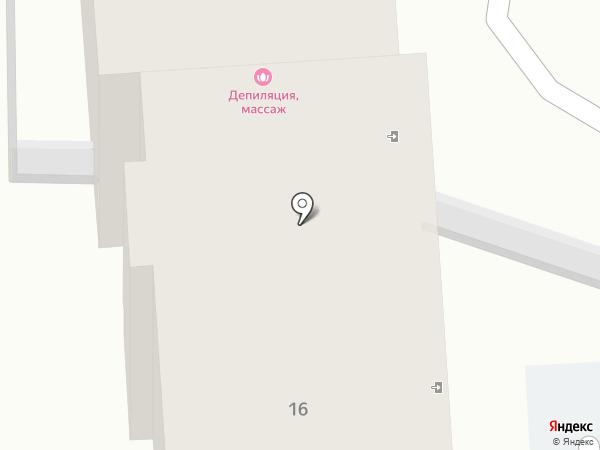 Матрешка на карте Калининграда