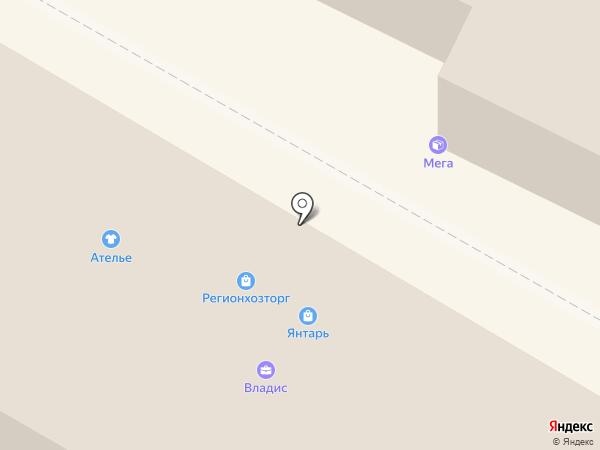 Автовит на карте Калининграда