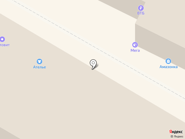 Солар на карте Калининграда