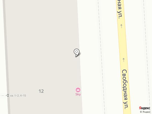 Стикс на карте Калининграда