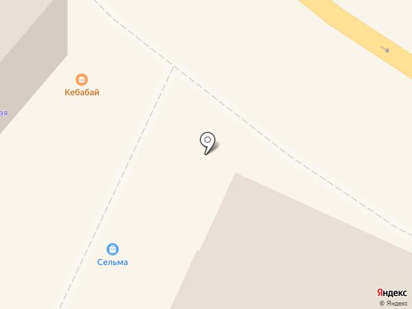 Кебабай на карте Калининграда