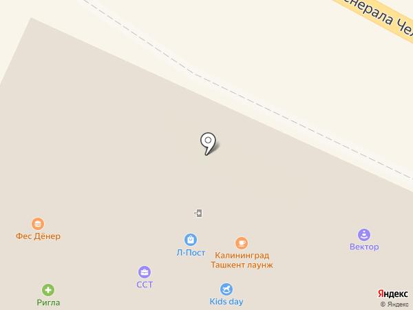 Фес Дёнер на карте Калининграда