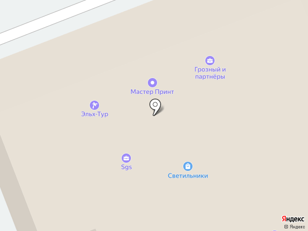 Адвокатское бюро Бориса Грозного на карте Калининграда